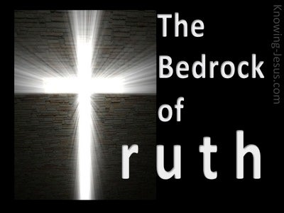 The Bedrock of Truth (devotional) (black)
